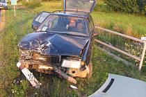 Strážka aut u Stráže nad Nežárkou.