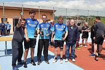 Nohejbalový turnaj v Písečném se uskutečnil v sobotu 18. května.