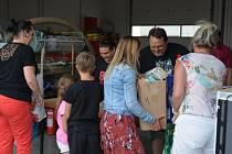 Dobrovolníci z Kardašovy Řečice pomáhali v Lužicích na Hodonínsku.