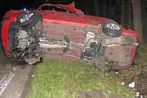 Smrtelná nehoda u Majdaleny.