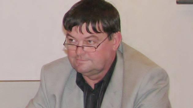 Nový starosta Nové Bystřice Vladimír Bláha.