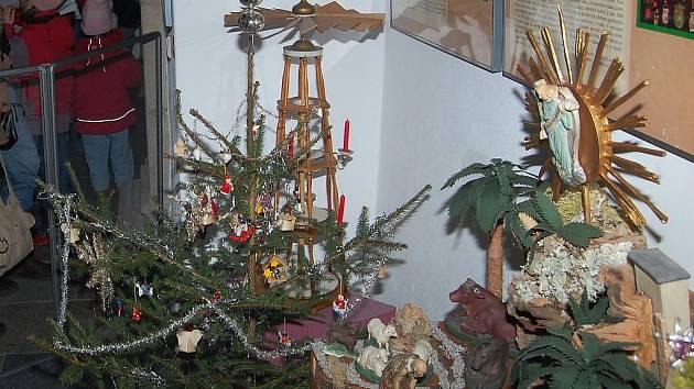Vánoční výstava. Ilustrační foto.