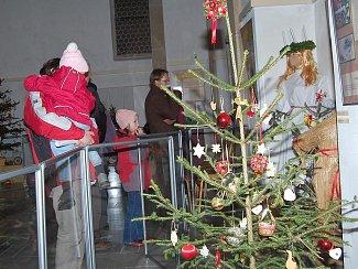 Vánoční výstava v jindřichohradeckém muzeu.