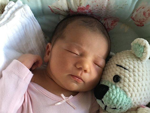Nina Alžběta Kaňáková se narodila 25. srpna Zuzaně a Karlu Kaňákovým z J. Hradce. Vážila 4230 gramů a měřila 52 centimetrů.