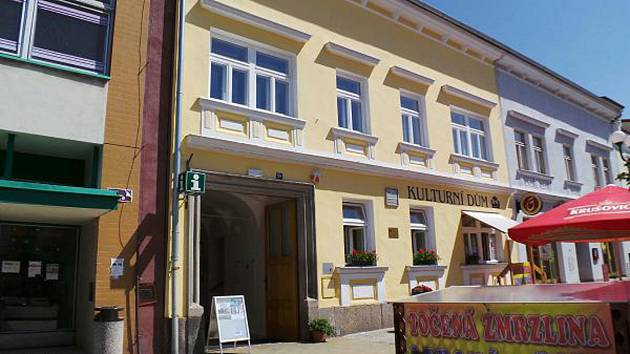 Turistické informační centrum v Nové Bystřici.