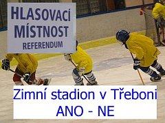 Občany Třeboně čeká referendum ohledně výstavby zimního stadionu.