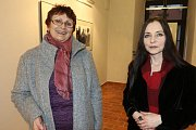 Vernisáží byla v pátek zahájena výstava fotografií Antonína Špáta k jeho 85. narozeninám.
