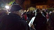 Ve Strmilově se k akci Česko zpívá koledy připojili poprvé.