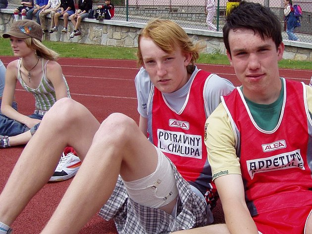 Mladí atleti z Jindřichohradecka (ilustrační foto).