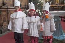 Třeboňští tříkráloví koledníci.