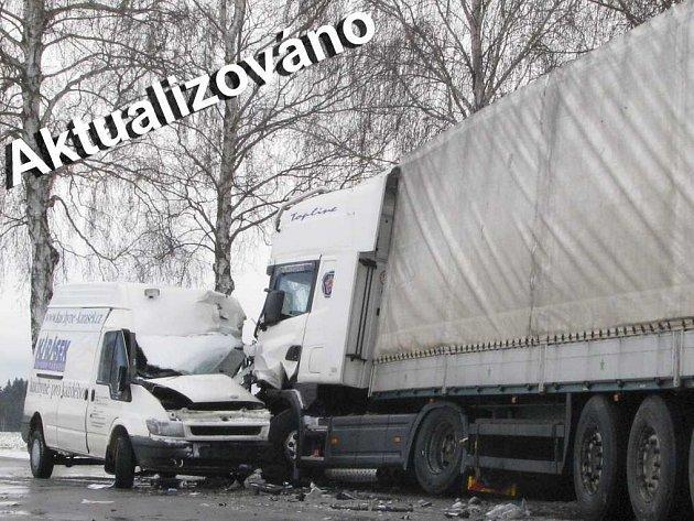 Tragická nehoda v zatáčce smrti u Otína u Jindřichova Hradce z 21. 3.