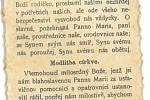 Vzkaz pro budoucí generace se ukrýval pod křížem na věži v Deštné.