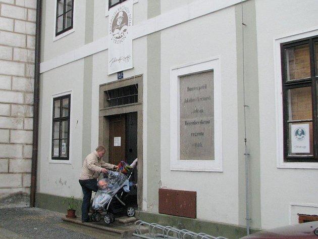Krčínův dům v Třeboni.