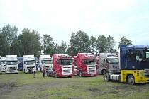 Setkání trucků v Lužnici.