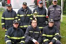 Dobrovolní hasiči ve Stráži nad Nežárkou.