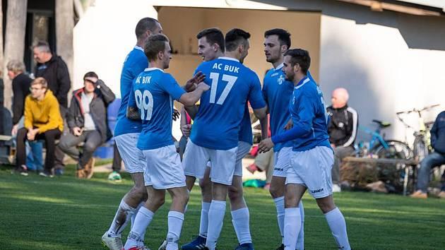 Fotbalisté AC Buk budou poprvé v historii klubu působit v krajské I. B třídě.