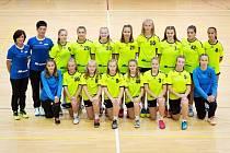 Starší žákyně Házené Jindřichův Hradec si opět zahrají celorepublikovou elitní ligu této věkové kategorie.