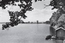 Přístaviště na rybníce Svět.