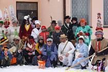 Masopust v Branné u Třeboně