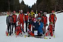 Úspěšně si počínali biatlonoví žáci ze Starého Města v regionálním závodu ve Vimperku.