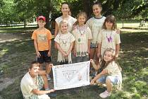 Letní hrátky, které fungují jako forma příměstského tábora, si děti v základní škole Sokolská užily.