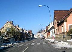 Claudiusova ulice v Jindřichově Hradci.