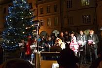 Česko zpívá koledy 2016 v Třeboni.