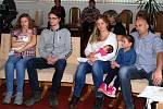 Na Městském úřadu v Nové Včelnici přivítali v pondělí nové občánky.