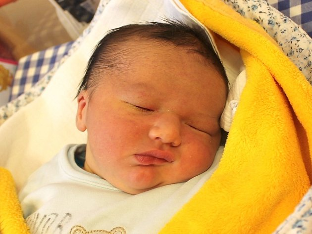 Martin Novák se narodil 4. ledna Janě Kadičové a Martinu Novákovi z Otína.  Měřil 54 centimetrů a vážil 4590 gramů.