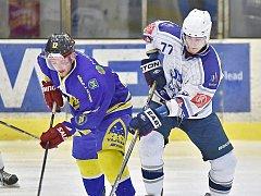 Hokejisté Vajgaru prohráli v Kolíně 2:3 po samostatných nájezdech.
