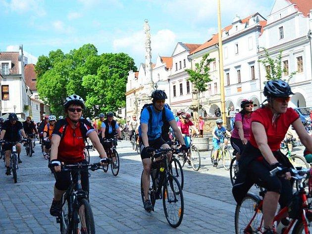 Třeboňská šlapka vedla loni cyklisty po stopách Rožmberků.