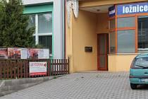 Ubytovna Beruška v Miřiovského ulici.