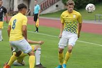 Jindřichohradečtí fotbalisté prohráli v Sedlčanech 1:2.