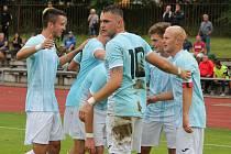 Jindřichohradečtí fotbalisté porazili ve druhém kole divize Sedlčany 2:1.