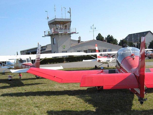 Jindřichohradecké letiště. Ilustrační foto.