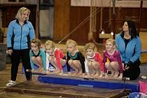 Gymnastický oddíl Slovanu J. Hradec funguje už 60 let.
