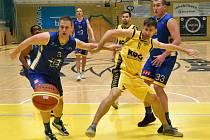V semifinále play off basketbalové I. ligy se Jindřichův Hradec střetne s Pískem. V základní části vyhrál oba duely tým od Vajgaru 101:80 a 101:87.
