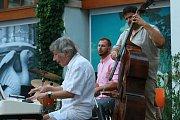 Jazzparáda v Jindřichově Hradci.