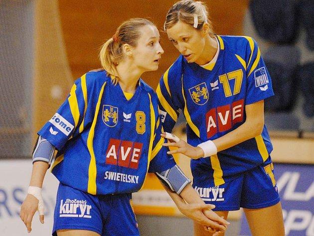 Opory týmu Jitka Matoušková (vlevo) a Hana Martínková.