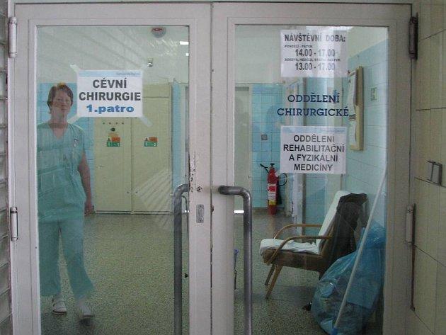 Cévní chirurgie v Dačicích má nyní nejistou budoucnost.