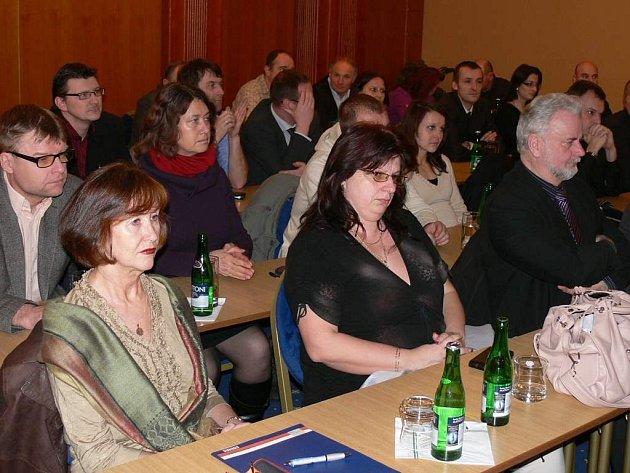 V Jindřichově Hradci se konalo podnikatelské fórum.