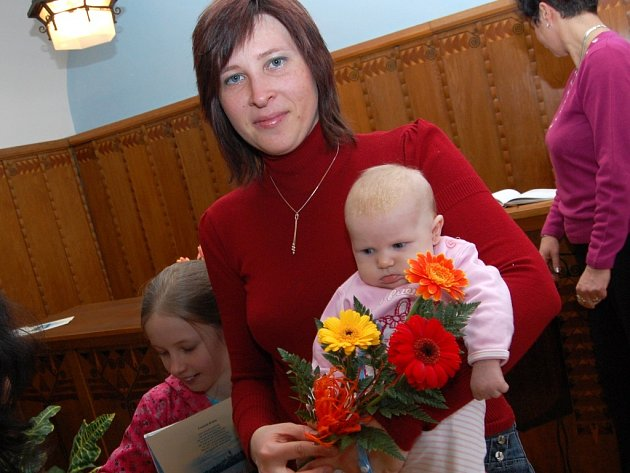 Vítání občánků Jindřichova Hradce 6. března 2009