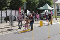 Sobotní odpoledne v Dačicích prožili bez aut.