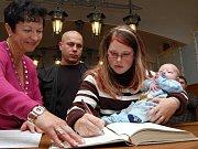Listopadové vítání nově narozených dětí v Jindřichově Hradci
