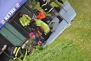 V Horních Němčicích se konalo druhé kolo Jindřichohradecké hasičské ligy.