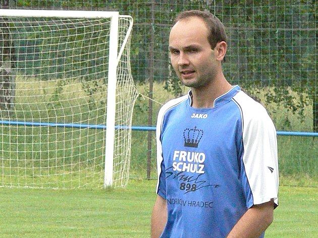 Útočník Jarošova Jan Musil.