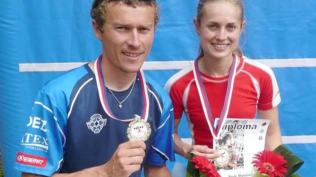Závodníci Klubu biatlonu ze Starého Města Luboš Schorný a Pavla Matyášová vstoupili výtečně do Evropského poháru v letním biatlonu, který prvním kolem odstartoval v Bystřici pod Hostýnem.