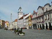 Třeboňské náměstí. Ilustrační foto