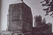 HRADNÍ kaple hradu Bezděz.