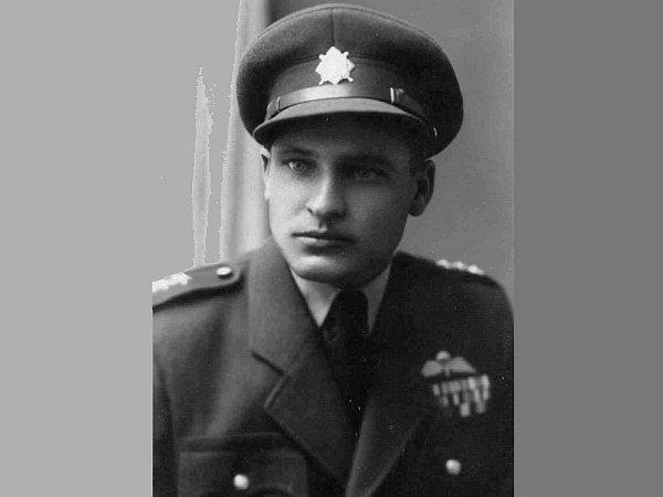 Ján Bačík na dobové fotografii.